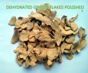 China Dehydrated ginger flakes (polished) ,natural orgnic ginger products,grade A on sale