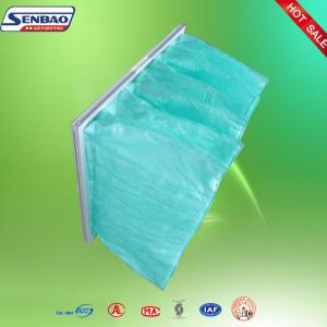 China Sealed Breathable Medium Efficiency Pocket Primary Air Filter For Air Conditioner on sale