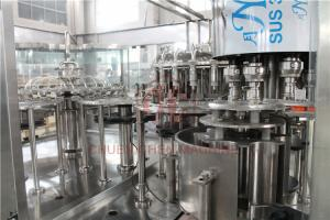 China Plastic Aqua Minaerl Water / Liquor /  Fruit Filling Machine , Juice Bottling Machine on sale
