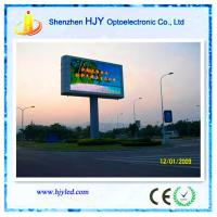 China High refresh rate p10 outdoor replacement led tv screen on sale
