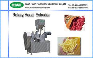 China China Rotary head extruder /machine/ Process Line for cheese curls,kurkure on sale