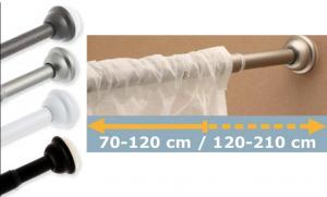 China Curtain track,shower curtain,extendable rod,pole,alu,bracket,finial,profile,window hardware on sale