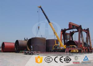 China Natural Gas Lime Rotary Kiln Henan Hongji Mine Machinery 4-75 Kw Power on sale