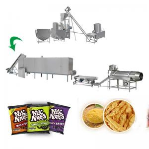 China Snack Food Fried Nik Naks Fried Cheetos Extruder Machine With Frying System on sale