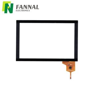 China outdoor touch screen 8 projected capacitive touch with rugged G+G structure and I2C interface on sale