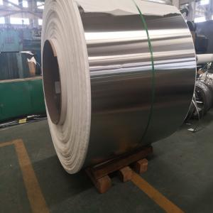 China 304L NO.4 Finished Stainless Steel Sheet Roll , Stainless Steel Strip 304L Cold Rolled on sale