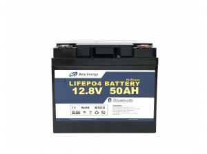 China 12V 50Ah 12 Volt Lithium Battery For Trolling Motor Bluetooth Camping Car Battery on sale