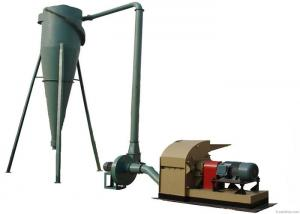 China Nut Shells / Wood /  Bamboo / Sawdust Hammer Mill Machine High Stability on sale