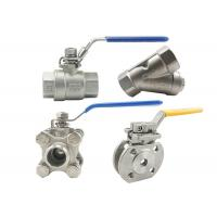 China Cf8 4 Inch Stainless Steel Ball Valve 316 Ss Ball Valve Fire Resistance on sale