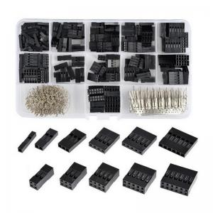 China 620pcs 0.1 Male Female Dupont Wire Jumper Kit Connector Header Housing Assortment M/F Crimp Pin For Arduino Raspberry on sale