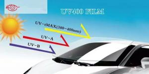 China UV 400 Solar Auto UV Protection Window Film Coloured Eco Friendly Anti Scratch on sale