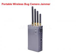 China Portable Wireless Video Jammer , Bluetooth / WiFi Wireless Camera Jamming Device on sale