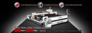 China Energy Saving Steel Plate Laser Cutting Machine High Cutting Flexibility on sale