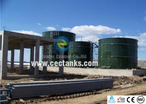China Stainless Steel Water Storage Tanks , Glass Fused To Steel Tanks Corrosion Resistance on sale