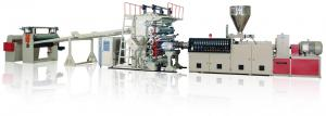 China 10 to 15mm PE Pp PVC Sheet Extrusion Line Machine on sale