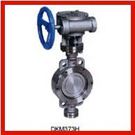 Manual Butterfly Valve DN50 International Series Iron Valve Wafer Style Durable