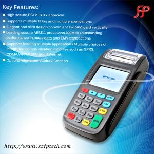 China Handheld wireless swiping machines with thermal printer and card readers nfc on sale