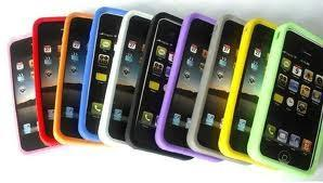 China Waterproof Colorful Soft Cell Phone Silicone Cases For Iphone 4s on sale