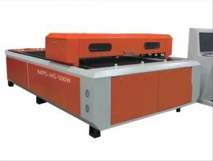 China 500w To 700w Steel Plate Laser Cutting And Engraving Machine  For Metal Board on sale