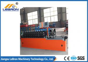 China High Alloy Steel Door Frame Forming Machine Software Design Felxible And Simple Operation on sale