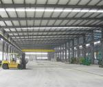 EPS Roof Q235b Prefabricated Steel Structure Workshop