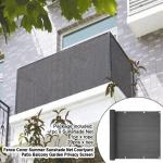 70 80 90 Balcony Outdoor Patio Sun Shade Cloth With Grommets 8x10 12x16 20x30