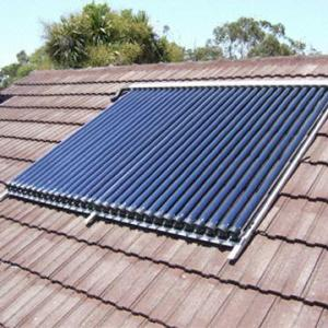 China Split pressurized solar hot water heaters on sale