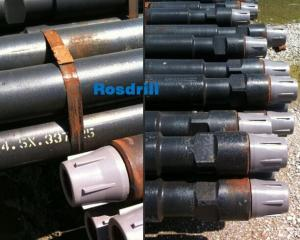 China Reichdrill Drill Rod 4-1/2 * 20' * 3-1/2 High Tensile Strength Loads on sale