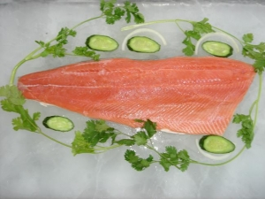 China Pink Salmon Products pink salmon fillet wholesale