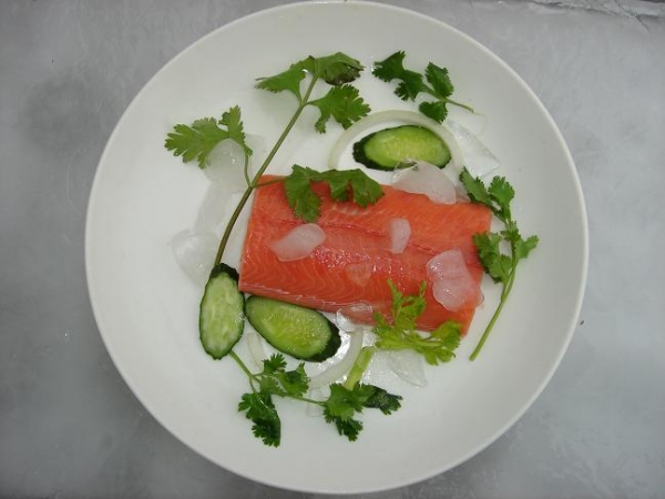 China Pink Salmon Products pink salmon portion