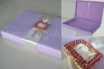 Exclusive wedding invitation box