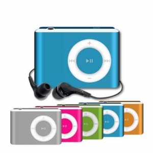 China MP3 Player 5 colors: black, pink, silver, blue,green on sale