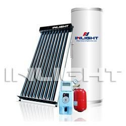 China Split Heat Pipe Pressurized Solar Hot Water Heater on sale