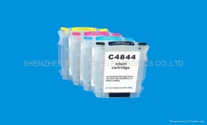 China HP Designjet 100 1100 K550 K5300 K5400 7380 Refillable Ink Cartridge(HP10 11 88) on sale
