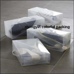 China Shoe storage boxes Clear shoe boxes on sale