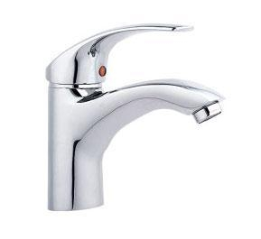 China Single lever wash basin mixer faucet Model: HD2031-4 on sale
