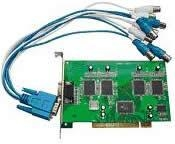 China 4 Channel Video & Audio Software Compression DVR Card on sale