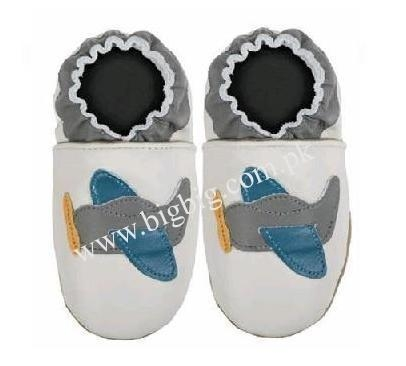 China Soft Leather Baby Shoes