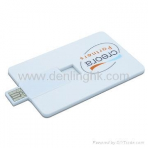 China Visa Credit Card USB Flash Drive DLUP63 on sale