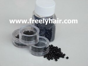 China hair extension tools micro rings inside screw wholesale