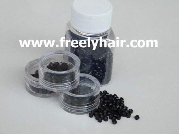 China hair extension tools micro rings inside screw