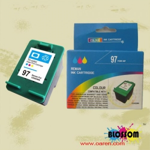 China Remanufactured inkjet cartridge for HP 97(HP C9363WN) on sale