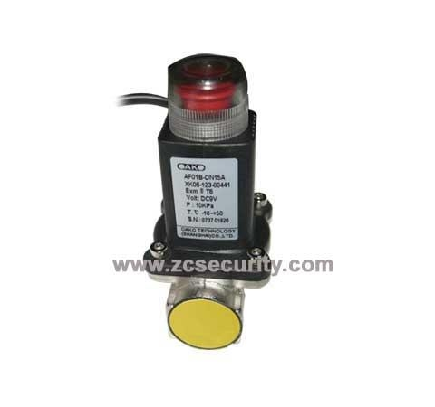 China Gas Pipe Auto Shut Electromagnetism Valve(ZC-S016)