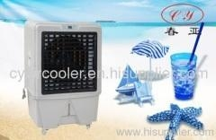 China 6000-8000m3/h air flow portable evaporative air cooler on sale
