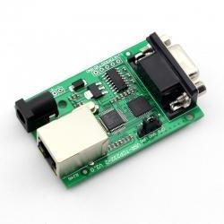 China Serial RS232 to Ethernet TCP/IP Converter,Serial Device Server Module on sale