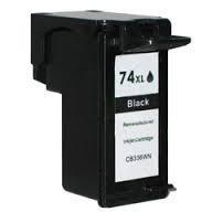 China 1 pack fully filled HP 74XL CB336W remanufactured cartridges on sale