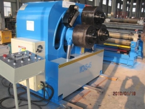China W24S-45 NC section bending machine on sale