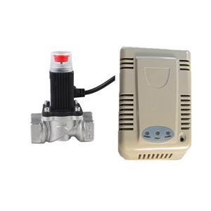China Gas Alarm Gas Detector with Gas Shut Off Valve (MTGA10V) supplier