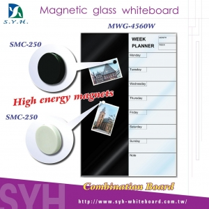 China VARIOUS ITEMS Magnetic Glass White Board on sale