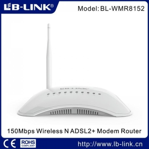 China 150Mbps Wireless N ADSL2+ Modem Router on sale